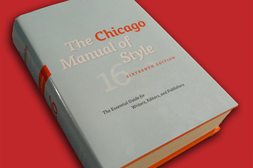 equivalent chicago manual of style