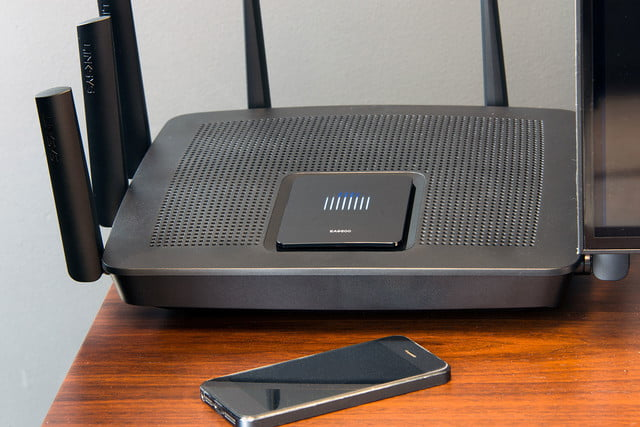 linksys ea9500 smart connect vs manual test results
